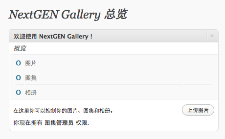 NextGEN Gallery in Chinese