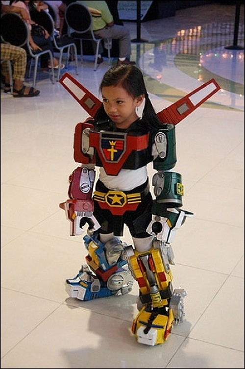 Little girl transformer