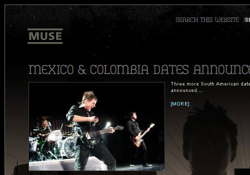 Muse Official Website
