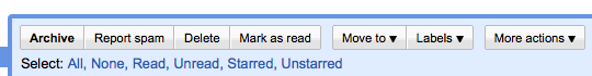 Gmail improved interface